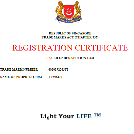 Li8ht Your LIFE™ Trademark