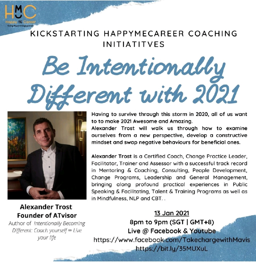 Interview on Intentionally Becoming Different